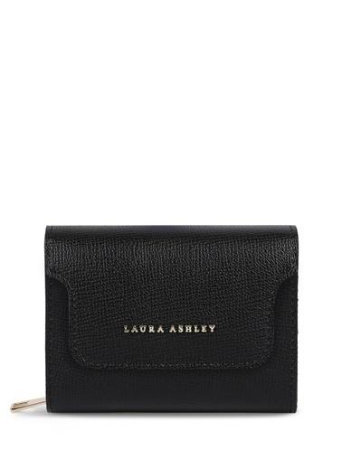Laura Ashley Laura Ashley Siyah Cüzdan Siyah
